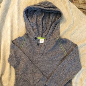 Boys Gymboree Henley with hoodie